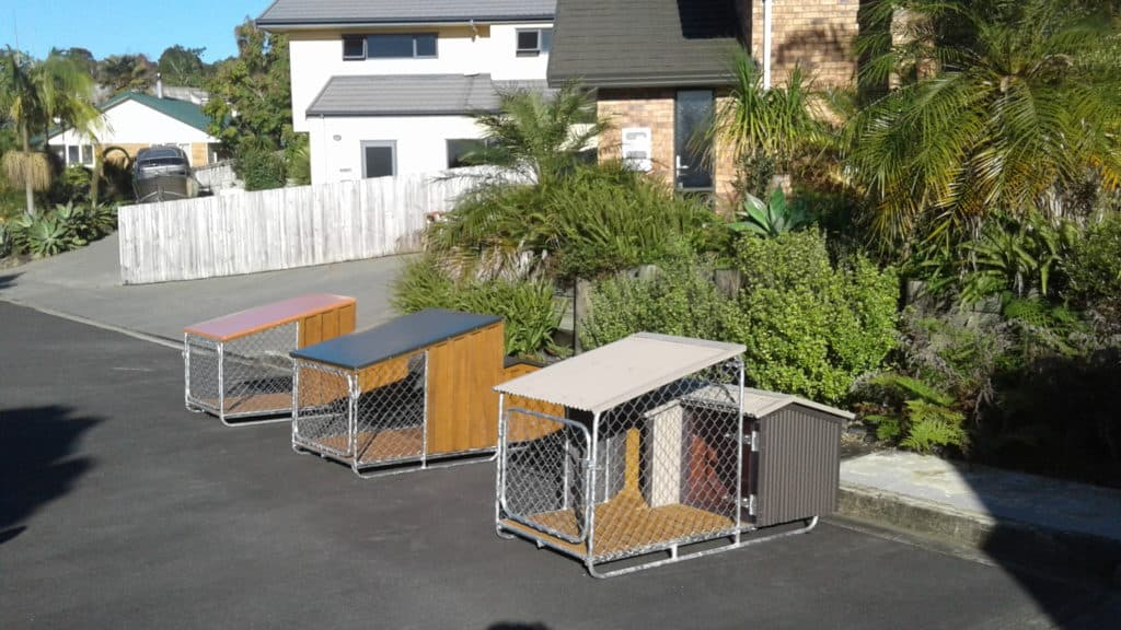 Dog kennels custom made